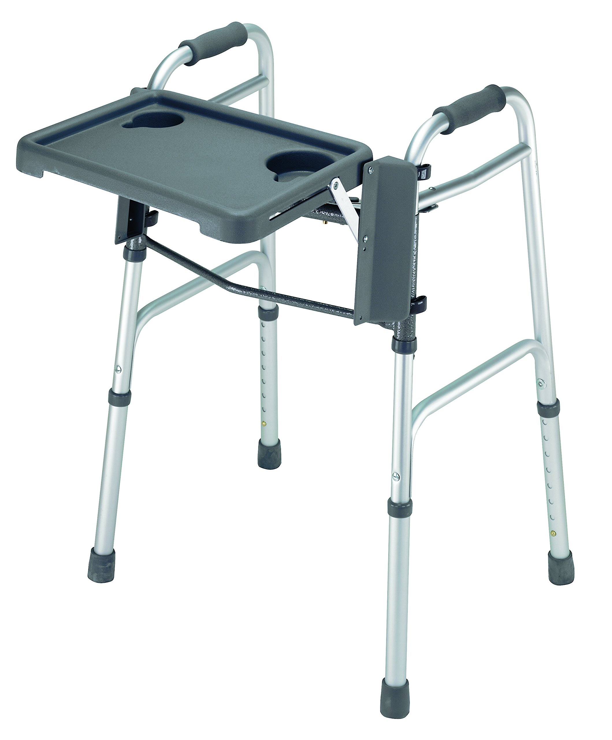 Briggs Healthcare Fold Away Tray For Walker - 16''W X 11 3/4''D