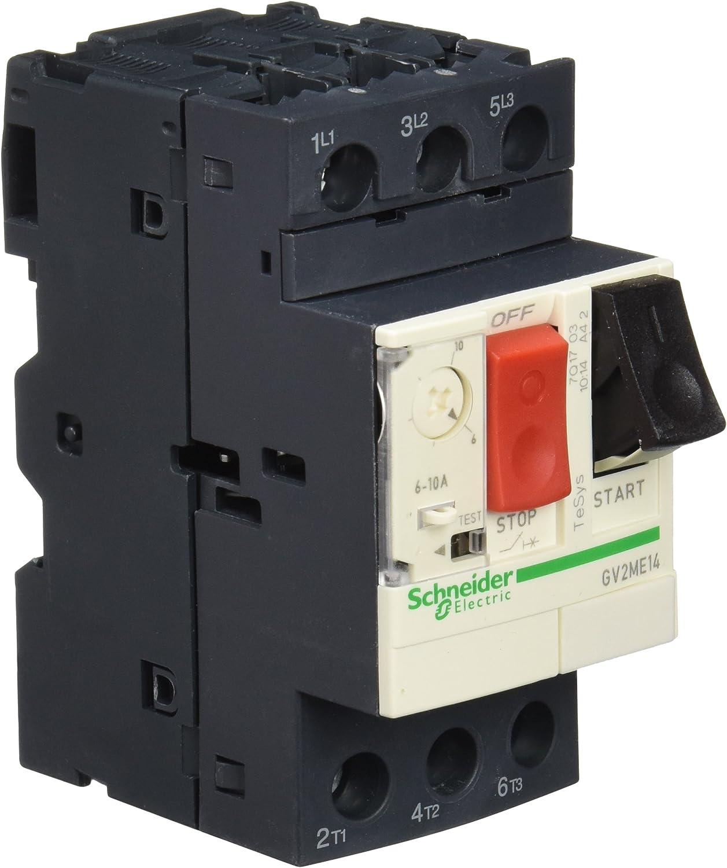 GV2-ME10C Schneider  Motor Starter 4-6.3A  Circuit Breakers