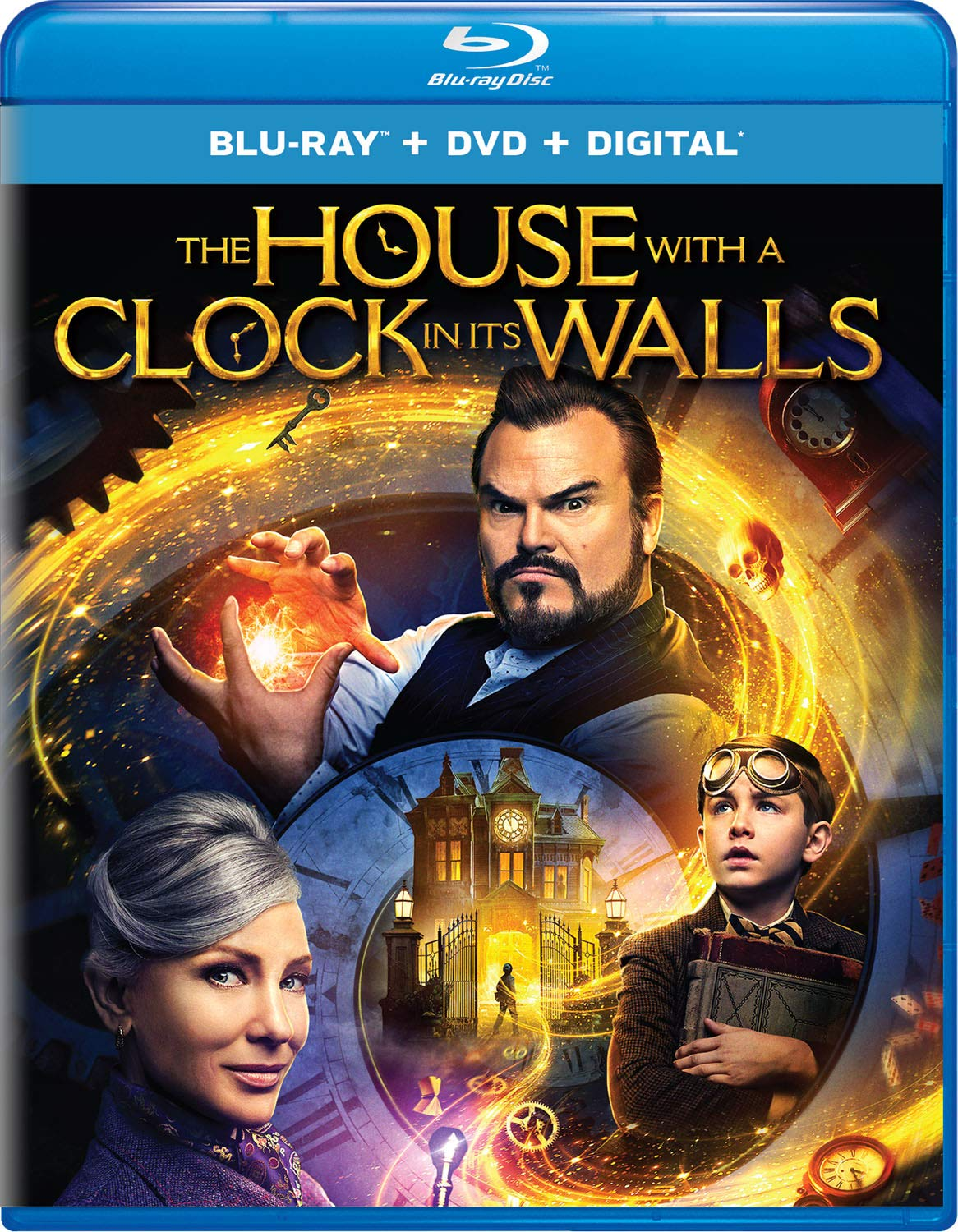 Blu-ray : The House With A Clock In Its Walls (With DVD, Digital Copy, 2 Pack)
