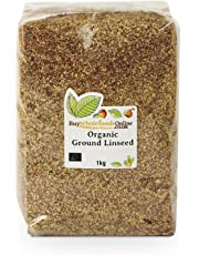 Buy Whole Foods Online Organic Ground Linseed, 1 Kg