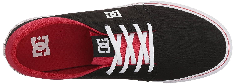 DC Men's Trase TX Unisex Skate Shoe B07594MG15 14 D D US|Black/Athletic Red/Black