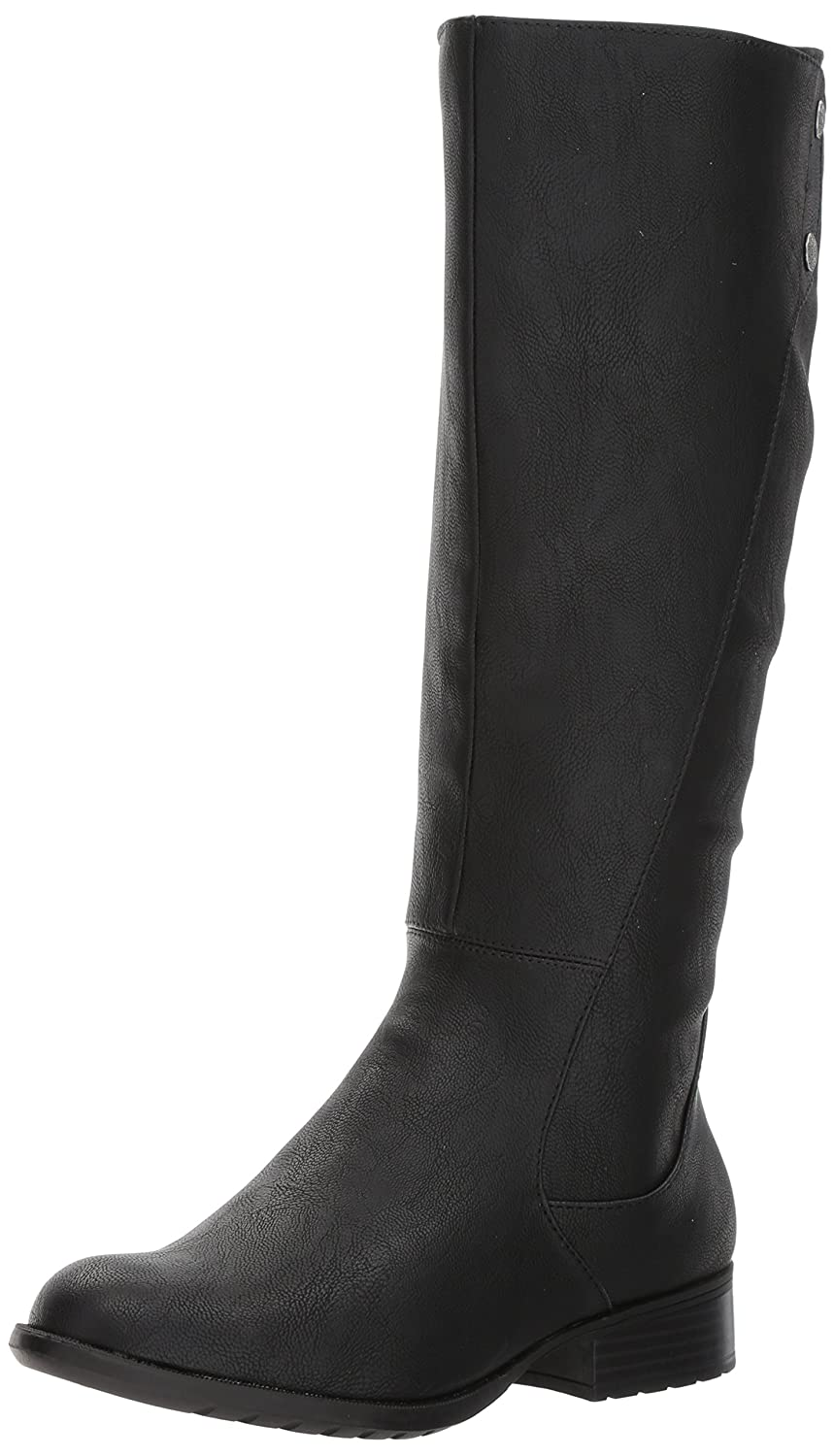 LifeStride Women's Xripley Riding Boot B071JXLCWD 7 W US|Black