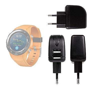 Duragadget Chargeur Secteur de Voyage USB pour Huawei Watch 2 / Sport/Watch 2 Classic