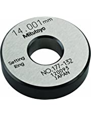Mitutoyo 177-132 Setting Ring, 14mm Size, 10mm Width, 38mm Outside Diameter, Plus /-1.5Micrometer Accuracy