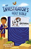 NIV Investigator's Holy Bible, Imitation Leather, Blue: Uncover the Truth of the Bible
