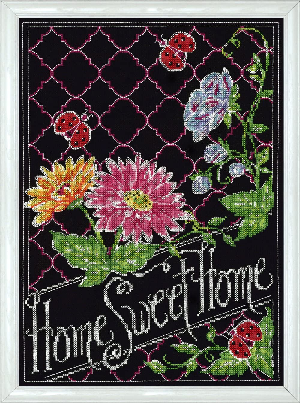 Design Works Crafts Home Sweet Home Chalkboard Counted Cross Stitch, 10 by 14""