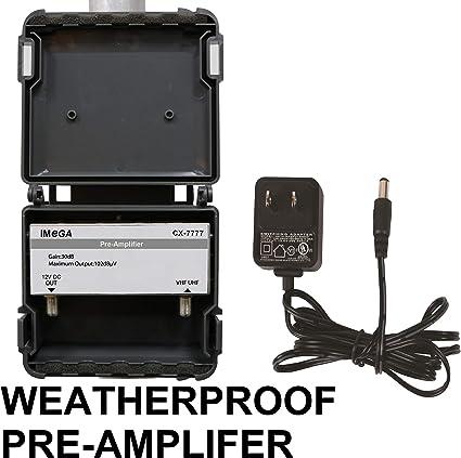 Pr/é-Amplificateur dantenne /à Gain r/églable