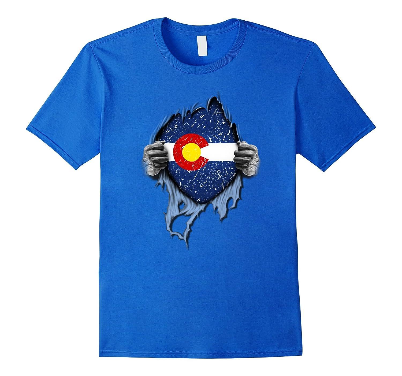 Colorado State Flag Retro State of Colorado T-shirt