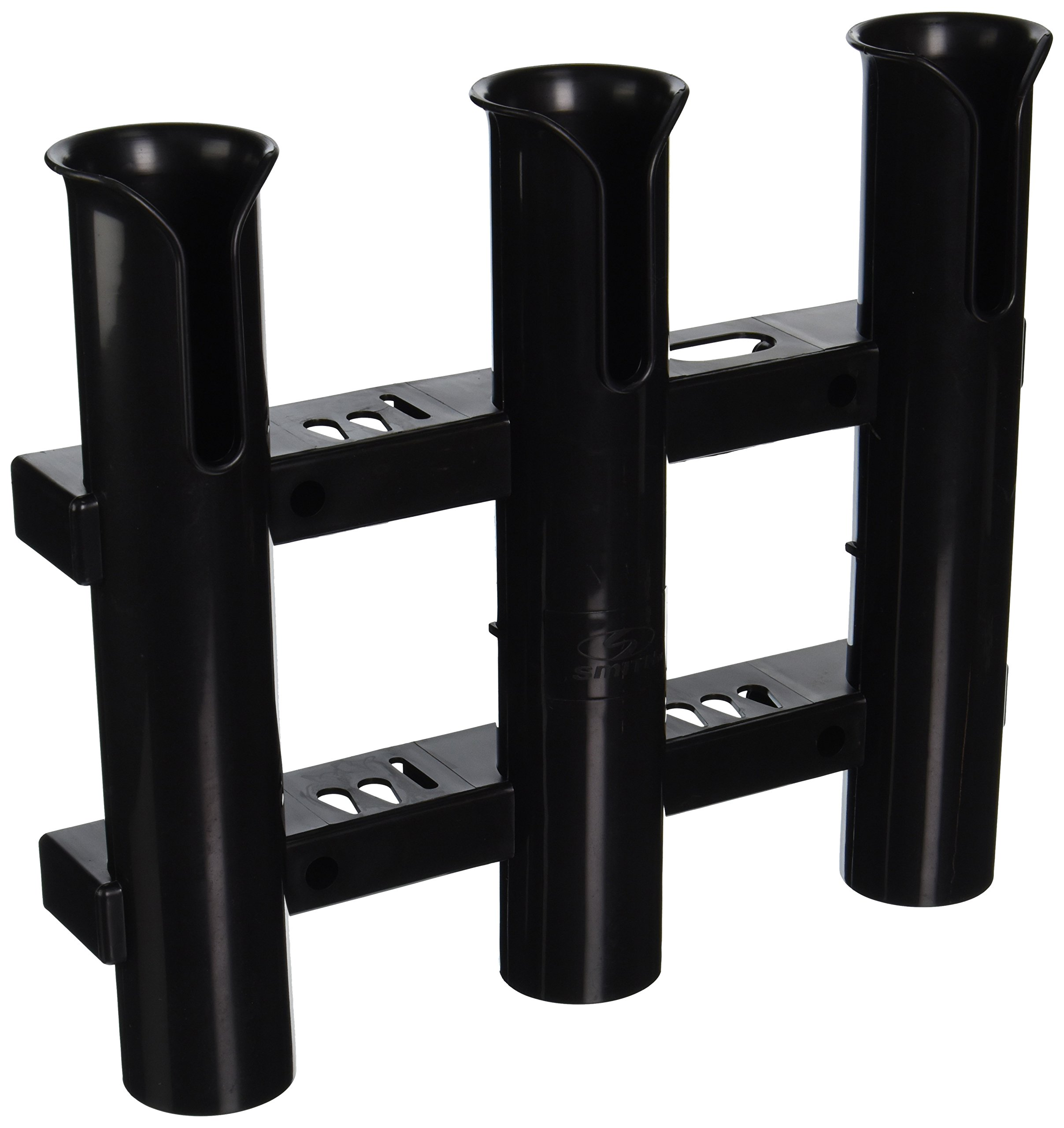 CE Smith Tournament 3 Rack Rod Holder, Black-Replacement Parts and Accessories for Tournament Fishing, Rod Fishing, Deep Sea Fishing and Trolling by CE Smith