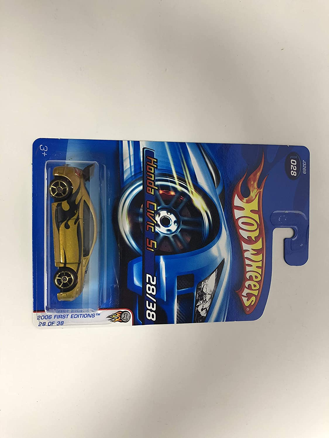 Honda Civic SI No. 028 Hot Wheels 2006 First Edition diecast 1/64 scale car