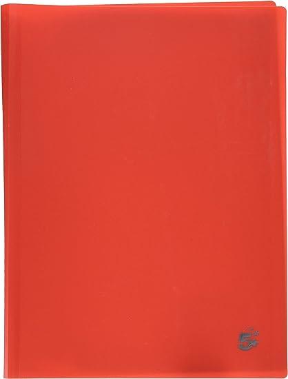rosso Portalistini 5 Star A4-20 buste