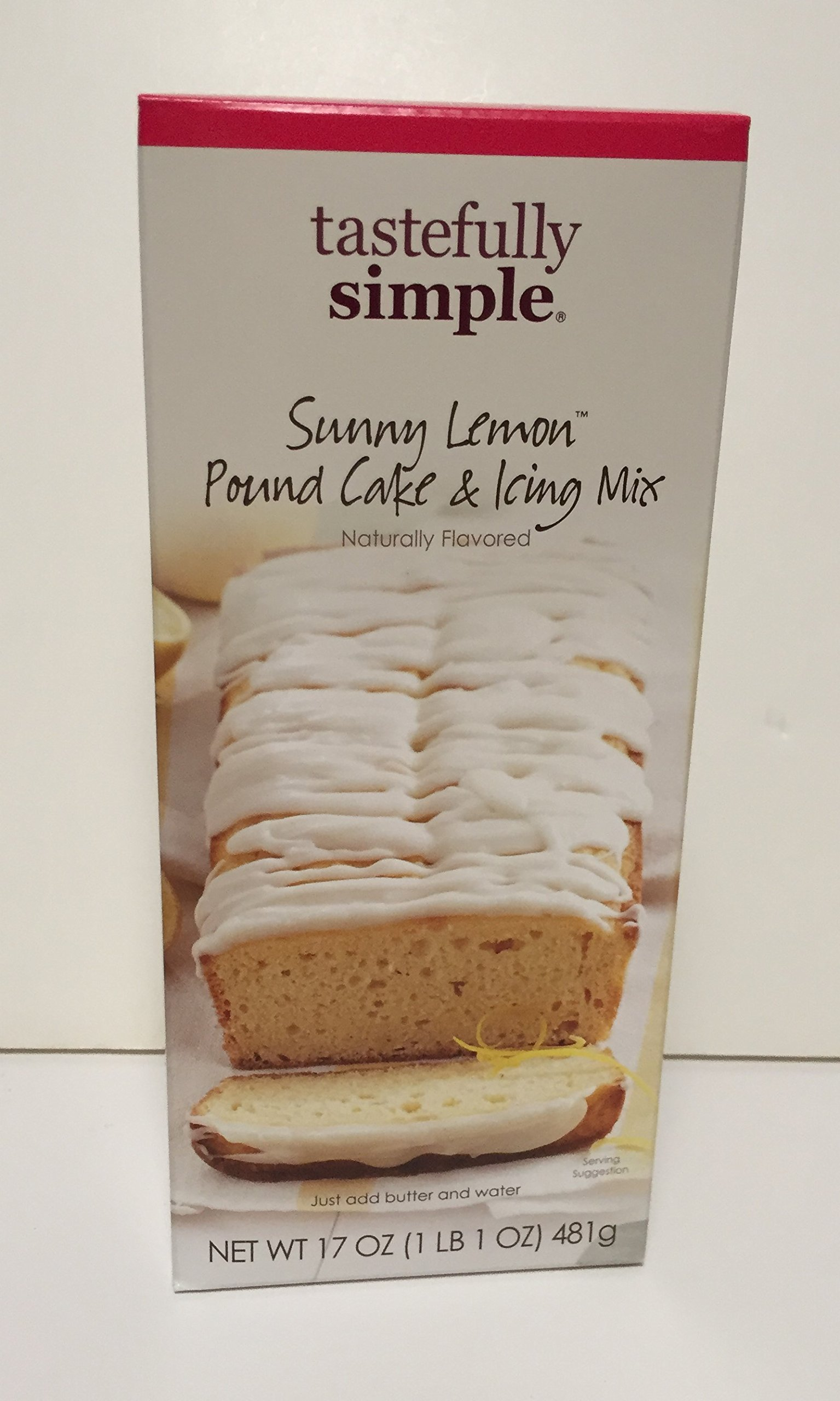 Amazon Tastefully Simple Absolutely Almond Pound Cake Mix