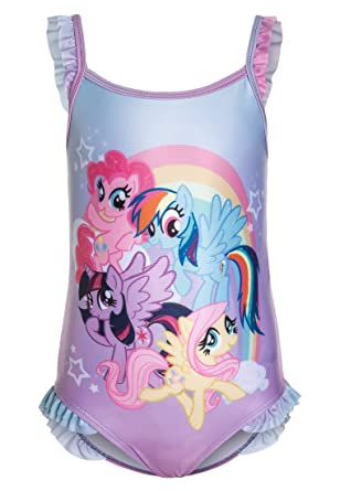 dd49f851c3497 Girls Swimming Costume My Little Pony: Amazon.co.uk: Clothing