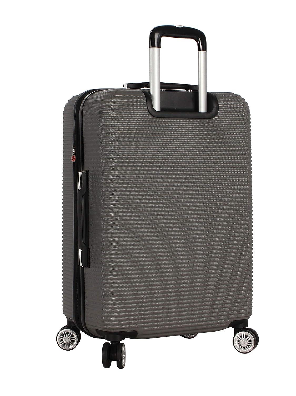 209af00a4f15 Amazon.com   Rosetti Luggage Loren hardside 24