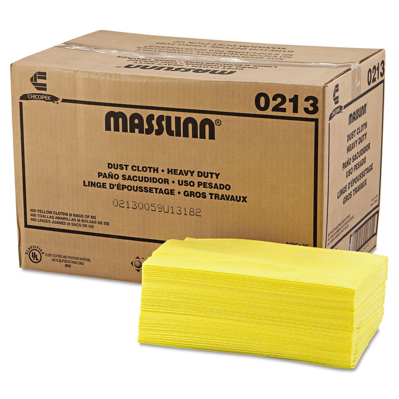 Chix 0213 Masslinn Dust Cloths, 24 x 16, Yellow, 400/Carton