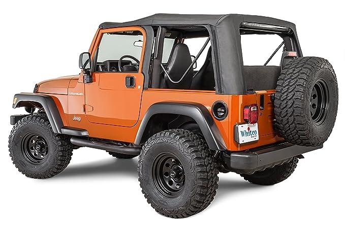 Amazon.com: Whitco Denim Jeep 88-95 YJ Wrangler - Cubierta ...