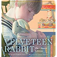The Velveteen Rabbit Oversized Padded Board Book: The Classic Edition (Classic Childrens Books, Holiday Traditions…