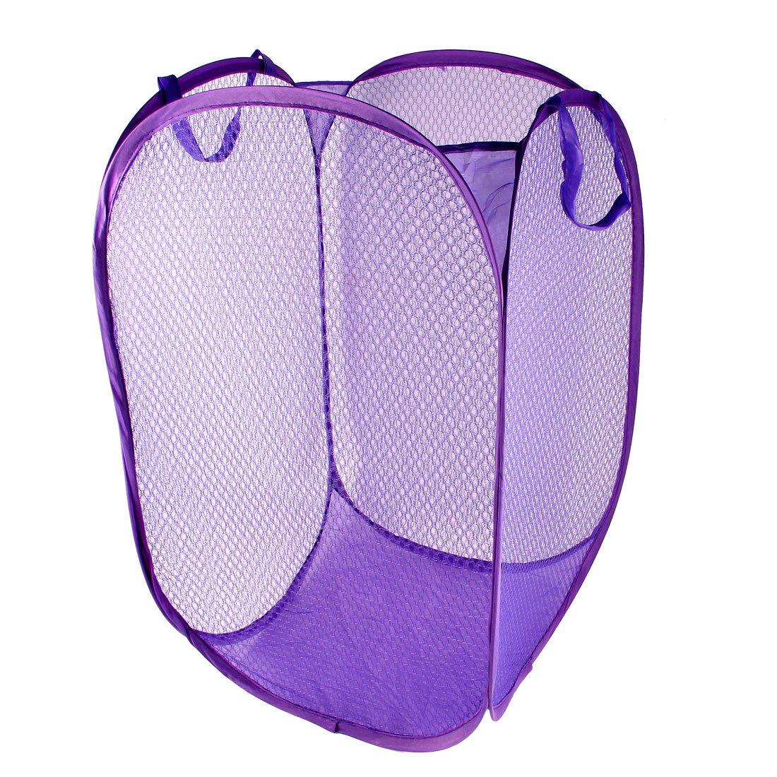 Cesta para bicicleta para la ropa sucia Pop Up juego de Cesta plegable para la ropa morado: Amazon.es: Hogar