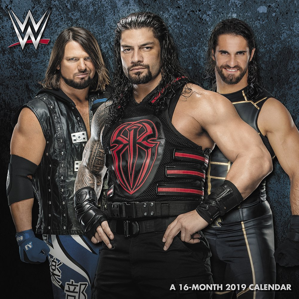 Wwe Calendar 2019 WWE Wall Calendar (2019): Mead: 9781635713688: Amazon.com: Books