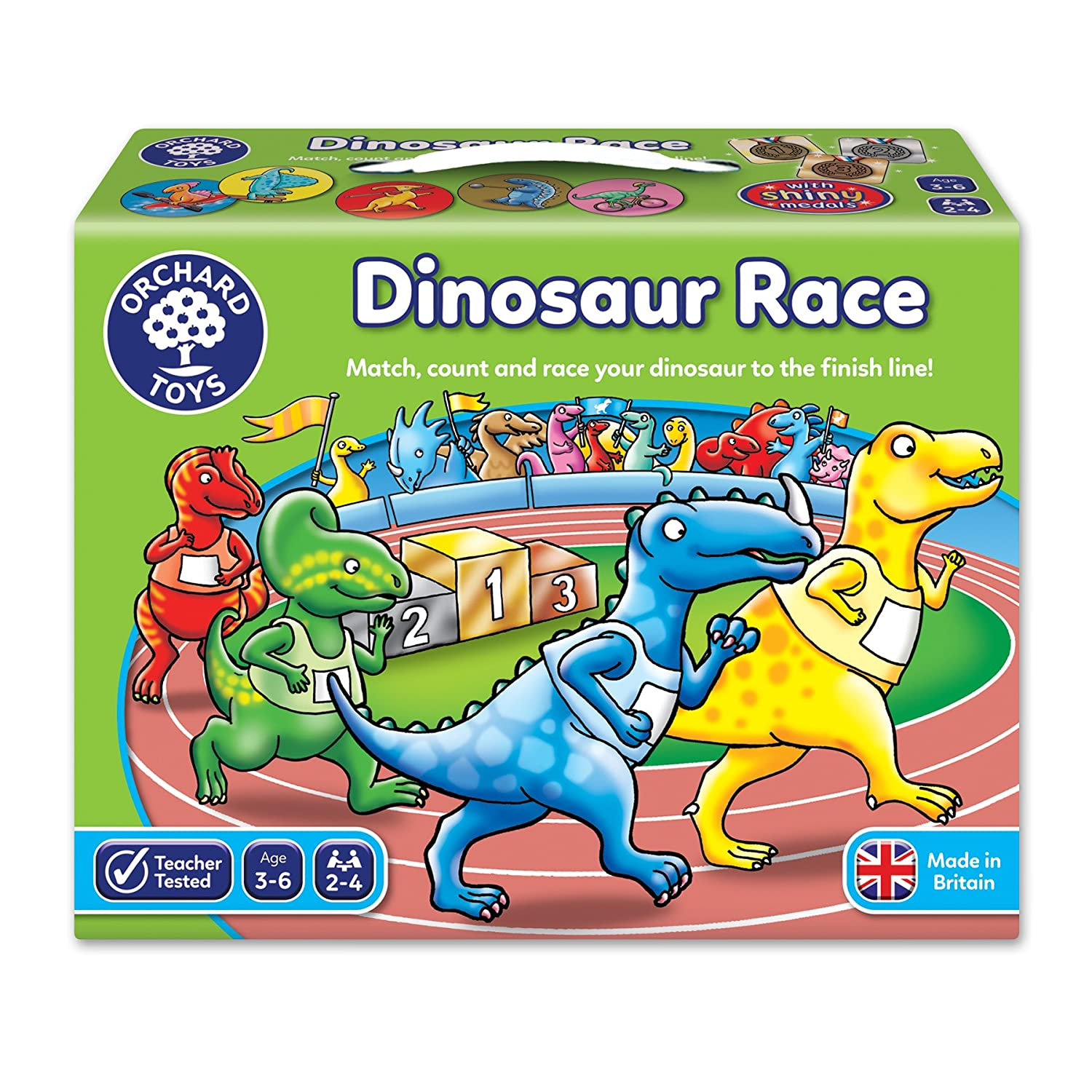 Race for dinosaurs 49
