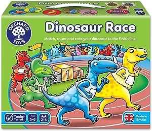 Orchard Toys 101679 Dinosaur Race Game