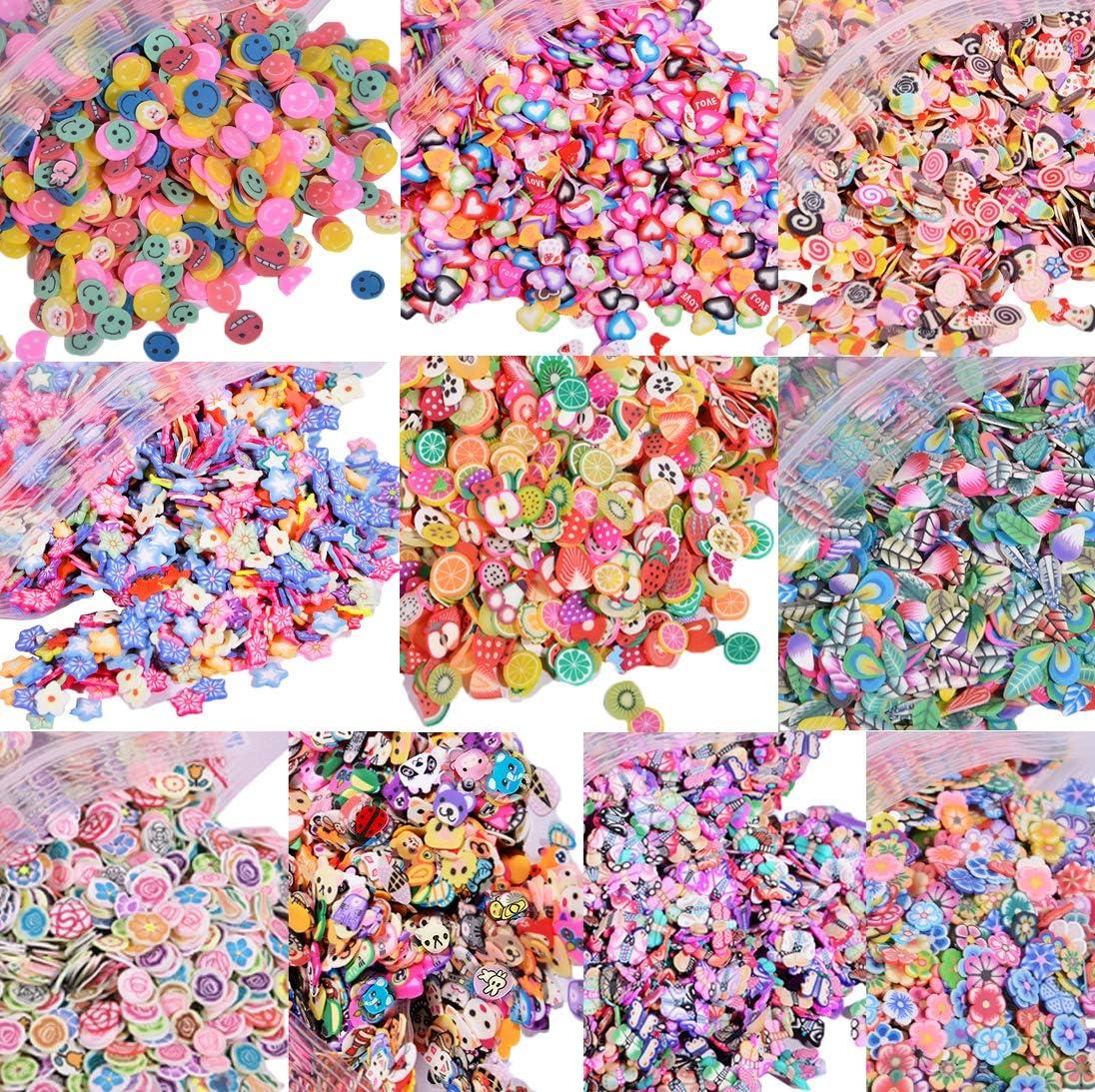 Charms 3D para slime (10.000 piezas)