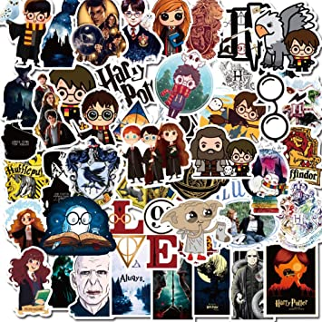 50 pcs Harry Potter Movie cool Stickers sticker waterproof graffiti decal