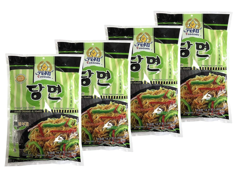 SUNGIVEN - Sartén de patata, vermicelli coreano, libre de ...