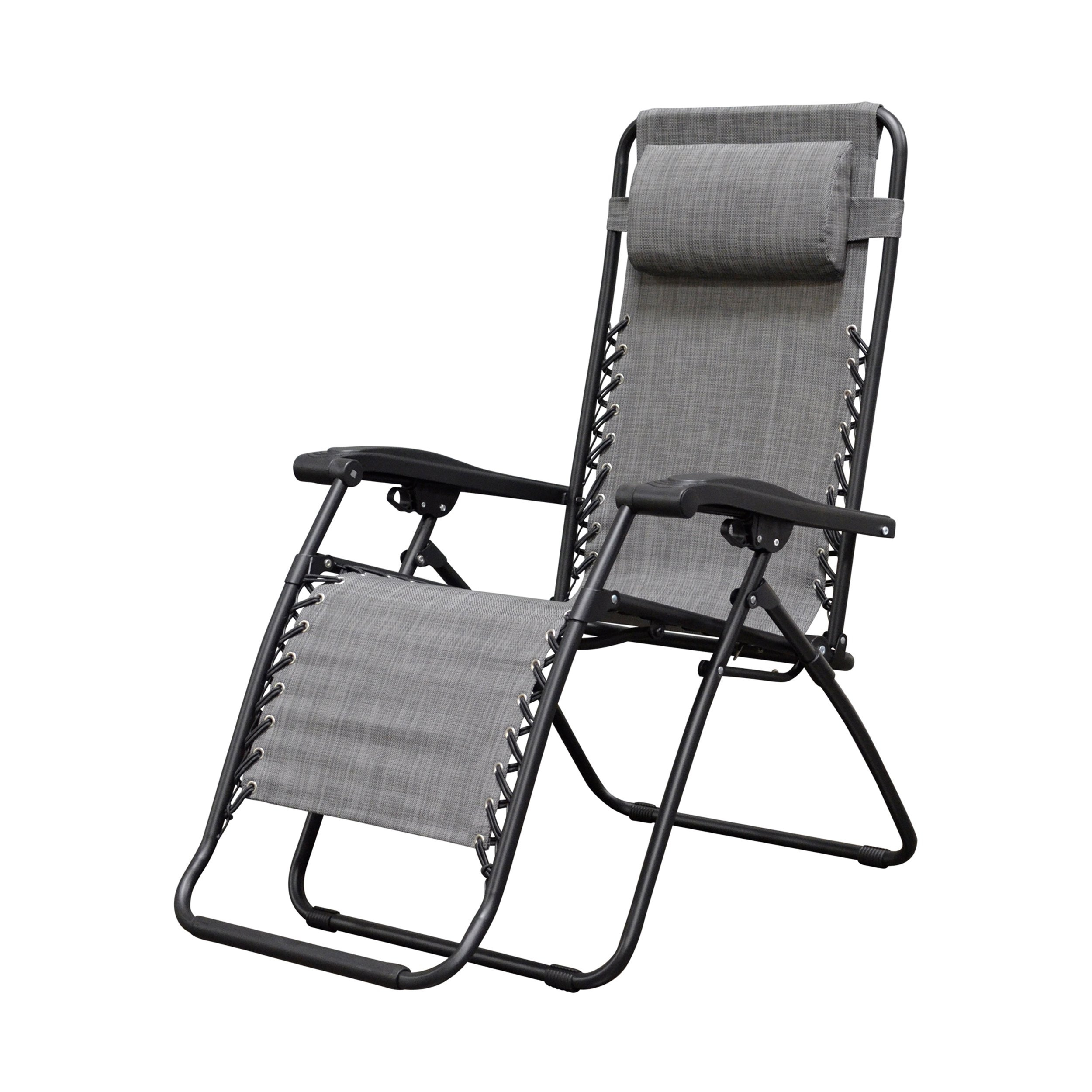 Caravan Sports Infinity Zero Gravity Chair, Grey by Caravan Sports