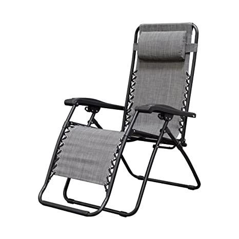 Caravan Sports Infinity Zero Gravity Chair Grey  sc 1 st  Amazon.com & Amazon.com : Caravan Sports Infinity Zero Gravity Chair Grey ...