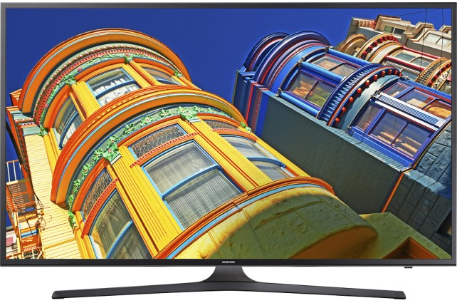 "Samsung 55"" Class (54.6"" Diag.) - LED - 2160p - Smart - 4K Ultra HD TV Black UN55KU6290FXZA - Best Buy"