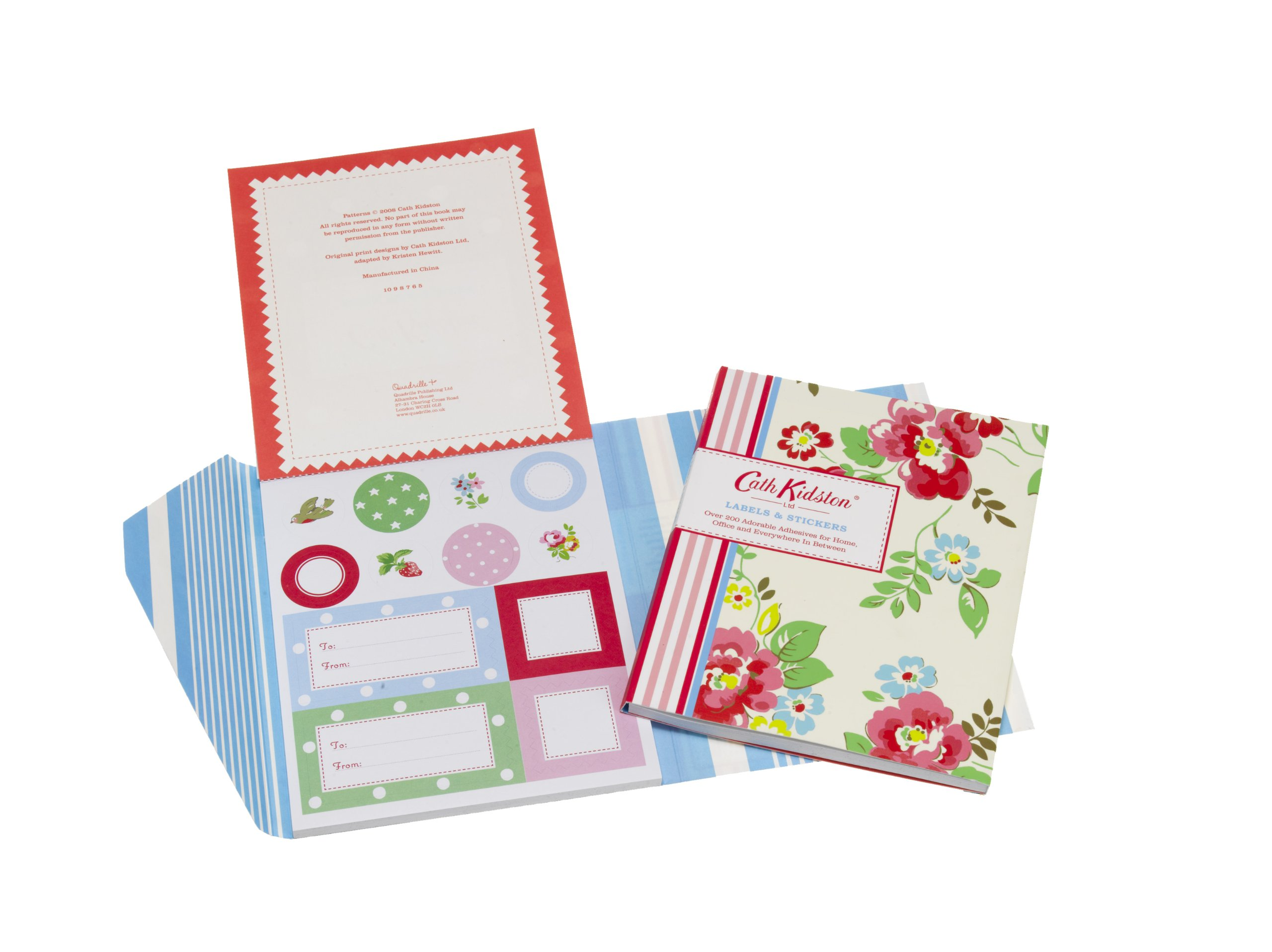 Cath Kidston Labels And Stickers Stationery Amazoncouk Quadrille 9781844006670 Books