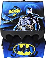 Dc Comics Batman Expandable School Backpack with Handle A Free Gift Included