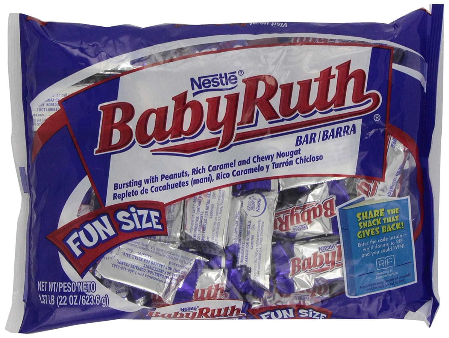 baby ruth candy bar promotion code