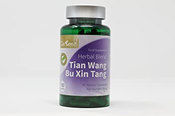 Tian Wang Bu Xin Tang by GinSen (150 Capsules) Insomnia Palpitations Forgetfulness Anxiety