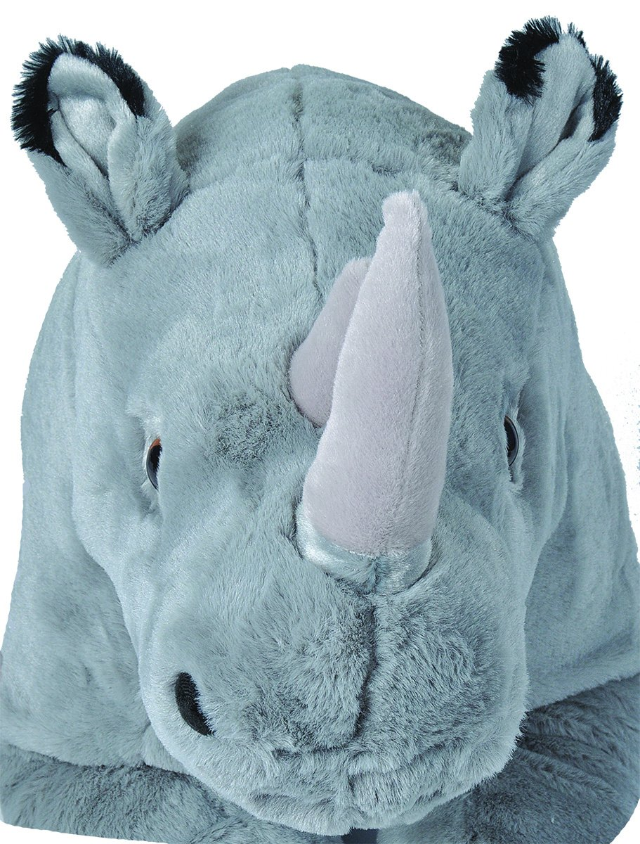 Amazon.com: Wild Republic Jumbo Rhino Plush, Giant Stuffed Animal, Plush Toy, Gifts for Kids, 30 Inches: Toys & Games