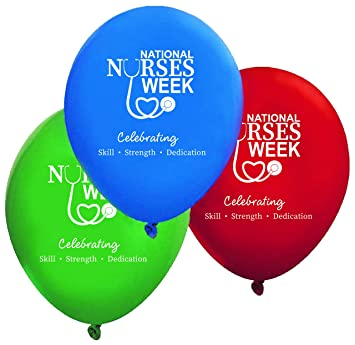 Amazon Com Decorated Balloons For National Nurses Week Celebrations