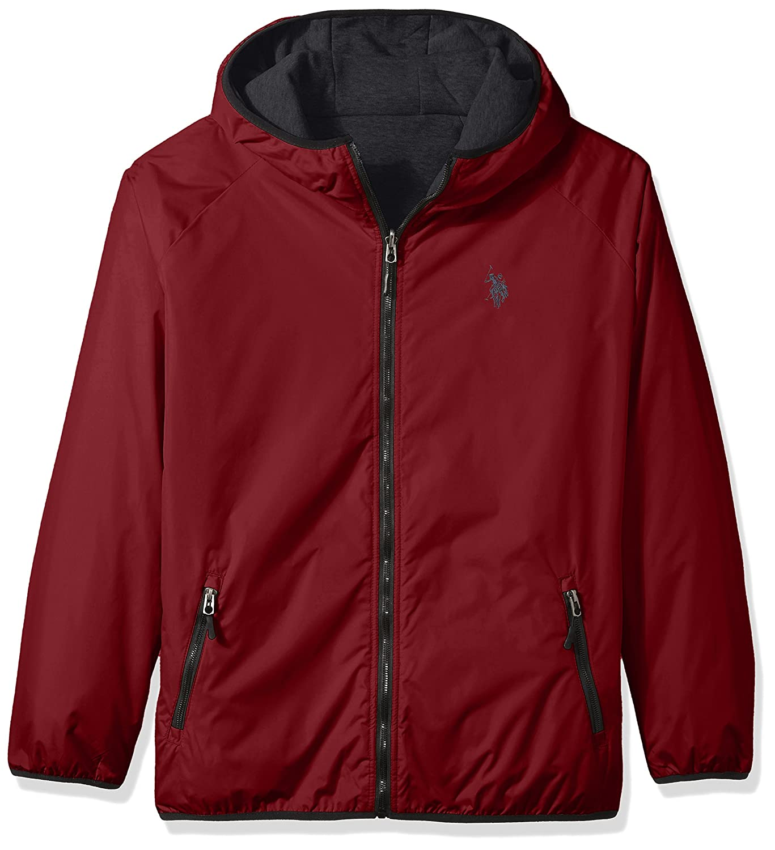 U.S. Polo Assn. OUTERWEAR メンズ B07368FGPG 2X|University Red 6396 University Red 6396 2X