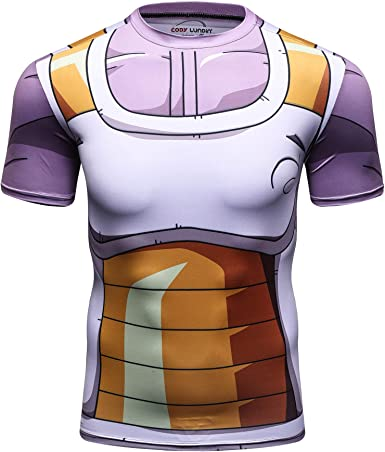 Z-Brand Dragon Ball Super Vegeta - Camiseta de Gimnasia - Negro - X-Large: Amazon.es: Ropa y accesorios