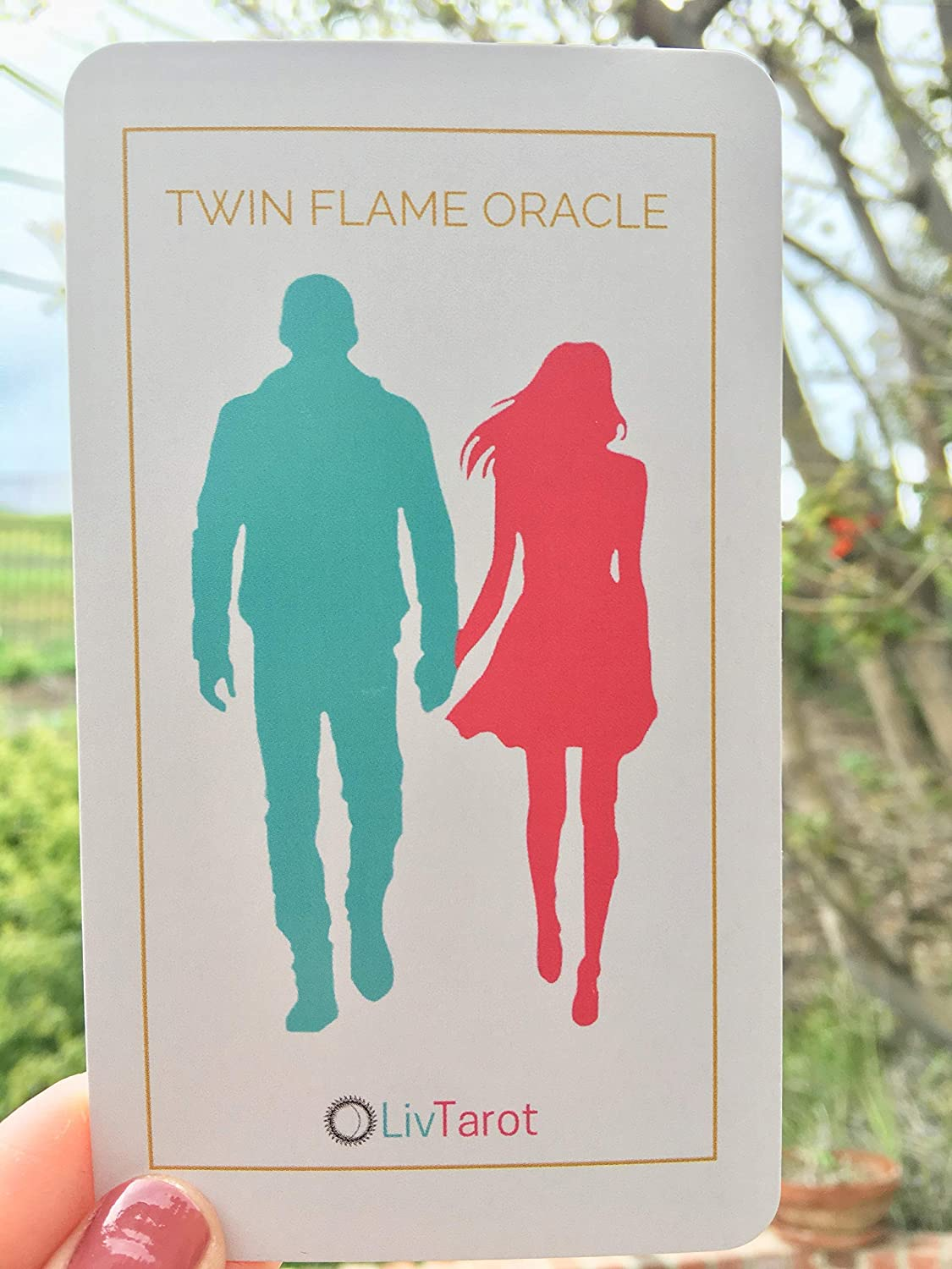 Twin Flame Oracle Deck  80 Cards for Love Relationships and Soul  Connections
