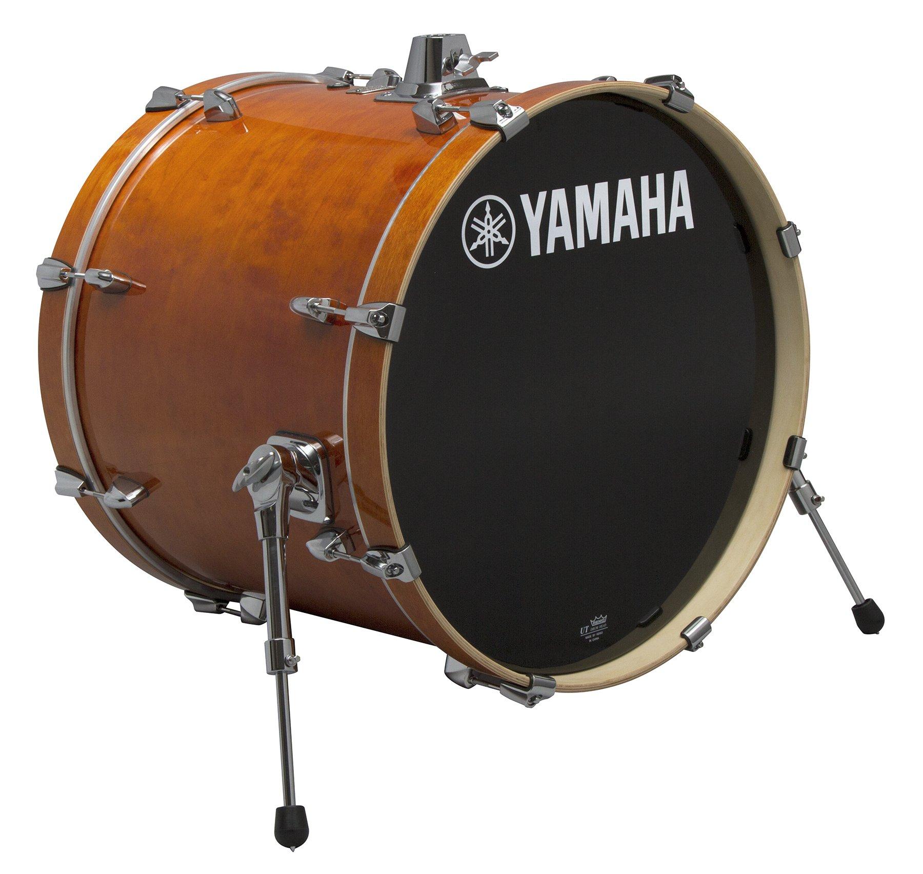 Yamaha Stage Custom Birch 18x15 Bass Drum, Honey Amber