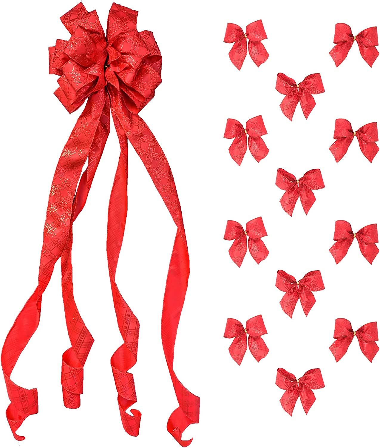 Over the top christmas Bow ott Bow Christmas bow Holiday Bow Christmas over the top Hair Bow Reindeer Ribbon Over the Top bow