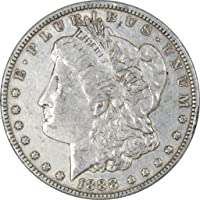 1888 O VAM 4 Hot Lips $1 Morgan Silver Dollar Coin XF EF Extremely Fine Details