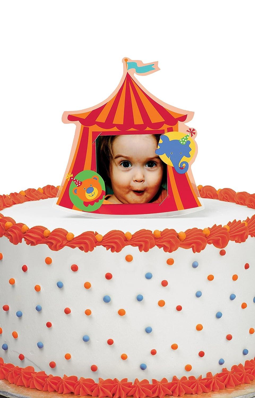sc 1 st  Amazon.com & Amazon.com: Wilton Big Top Photo Cake Topper: Kitchen u0026 Dining