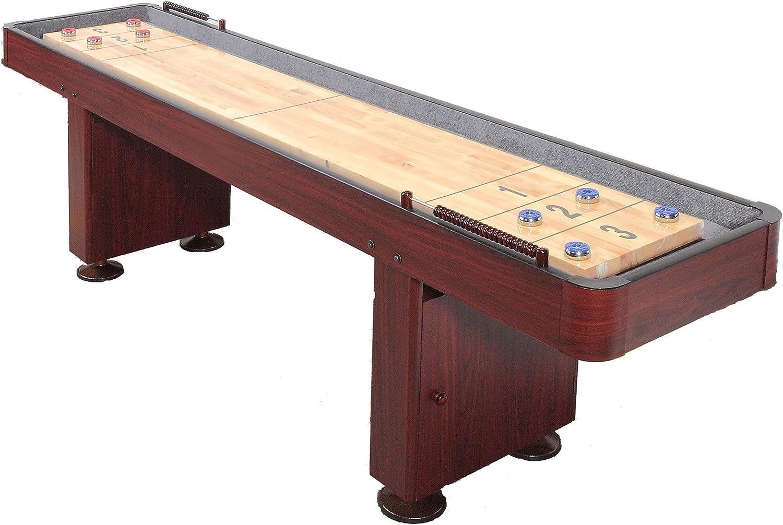 Carmeli Dark Cherry Shuffleboard Table