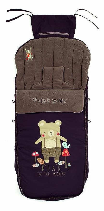 Jané Nest Plus - Saco de abrigo para sillas y carritos, color marrón (080473 R81)