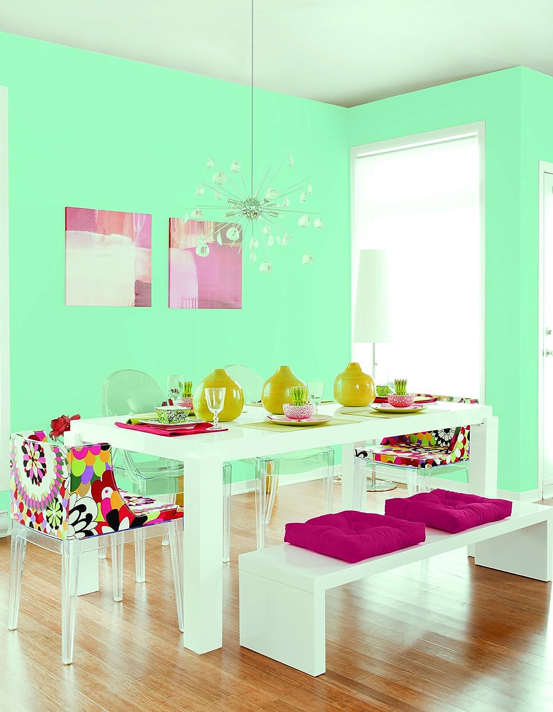 Johnstone's 307785 Colour Vibe Paints - Miami Mint: Amazon.co.uk ...
