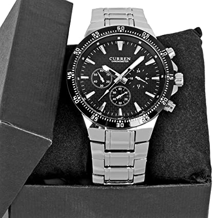 CURREN Luxury Fashion Men Wrist Watch Stainless Steel Band Mens Sport Watch HOT