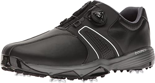 vacío mimar sufrimiento  adidas Mens 360 Traxion Boa WD Cblack-M 360 Traxion Boa Wd Cblack Black  Size: 7.5 UK: Amazon.co.uk: Shoes & Bags