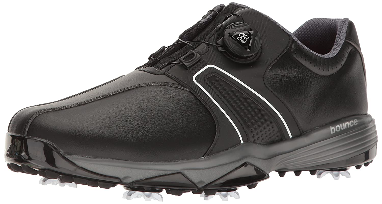 san francisco 83f94 480f3 Amazon.com  adidas Mens 360 Traxion Boa WD Cblack Golf Shoe